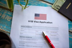 USA H1B visa application form